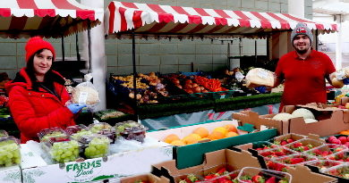 UHNM fruit and veg stall extends range to help NHS staff